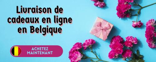 Livraison de cadeaux en ligne en Belgique