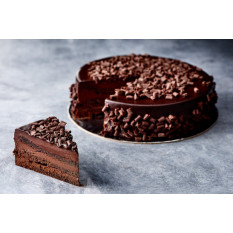 Gâteau de boue au chocolat (8 pouces)
