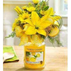 Bouquet de bougies pays Lemonad Yankee