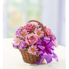 Panier de fleurs (petit)