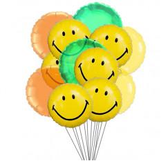 Ballons à large sourire (Ballons 6-Mylar et 6-Latex)