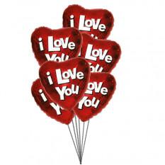 Ballons True Love (6 Mylar Balloon)