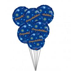 Félicitations ballons (6 ballons Mylar)