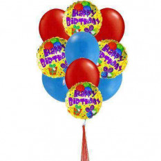 Ballons d'anniversaire Colorfull