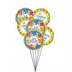Giftblooms spécial pour vous (6 Ballons Mylar)