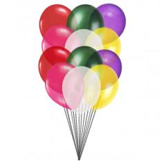 Ballons colorés (12 ballons en latex)