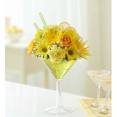 Bouquet de citron Martini (petit)