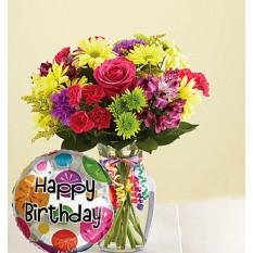 C'est votre bouquet de jour Joyeux anniversaire
