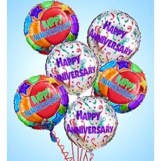 Air-Rangement - Ballons Mylar d'anniversaire