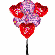 Bouquet de ballons Love U Mom