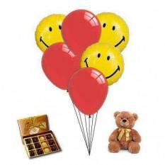Envoi de ballons Sweet Smile