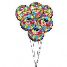 Bouquet de ballons de remise des diplômes