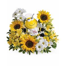Bee Well Bouquet (Deluxe)