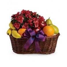 Panier de fruits et de fleurs (standard)
