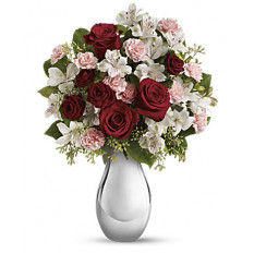 Giftblooms Crazy for You Bouquet de roses rouges (petit)