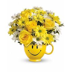 Soyez un bon bouquet avec des roses (Deluxe)
