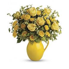 Pichet ensoleillé de Roses (Standard)