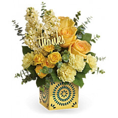 Shimmer Of Thanks Bouquet (Standard)