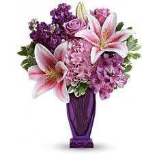 Bouquet Violet Blessant (Standard)