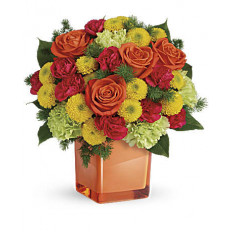 Bouquet de sourires aux agrumes (grand)