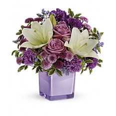 Pleasant Purple Bouquet (Premium)
