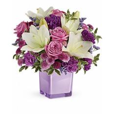 Pleasant Purple Bouquet (Deluxe)