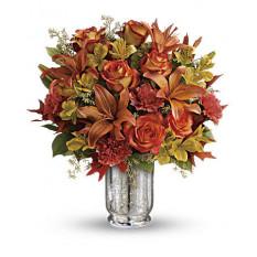 Bouquet d'automne blush (standard)