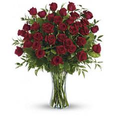 Beauté à couper le souffle - 3 douzaines de roses à longue tige