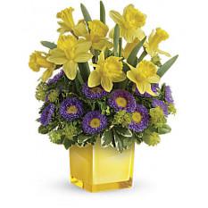 Bouquet de jonquilles printaniers ludiques (standard)