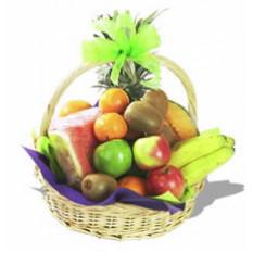 Panier de fruits savoureux