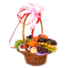 Panier de fruits élégant