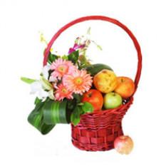 Panier de fruits fleur C