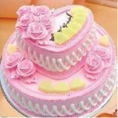 Gâteau aux deux couches