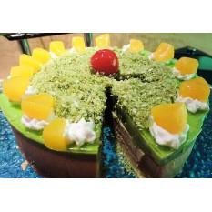 Gâteau Mousse au Thé Vert
