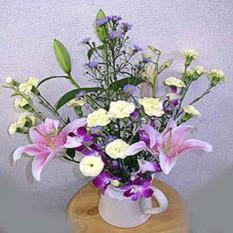 Vase Smilling
