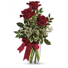 Thoughts Of You Bouquet With Red Roses (Standard)