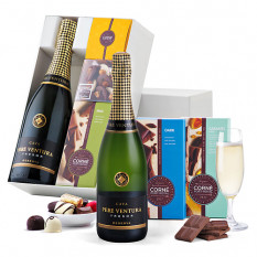 Cava Pere Ventura & Chocolats Corné Port-Royal