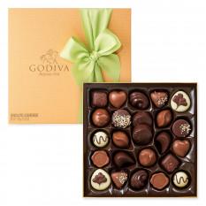 Godiva Spring Gold Box, 24 pièces