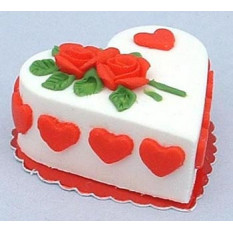 Yummy Yummy - 3,3 Pounds Gâteau à la vanille coeur