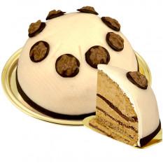Dessert Gâteau à la crème aux noix