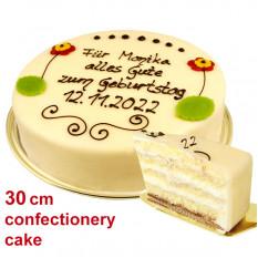Grands pâtisseries et gâteaux au massepain au genre Lübeck, peuvent être étiquetés