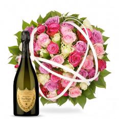 La Vie en Rose & Dom Pérignon