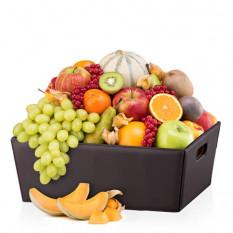 Panier en cuir classique Fruit