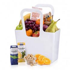 Sac-cadeau fruits et noix sains