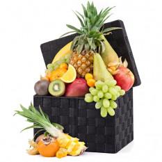 Panier à fruits exotique