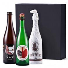 100% belge Trio bière et vin