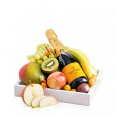 Plateau à fruits avec Veuve Clicquot