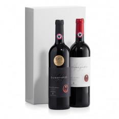 Duo de vin italien Chianti