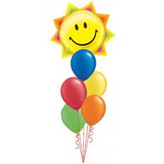 Bouquet de soleil radiant géant