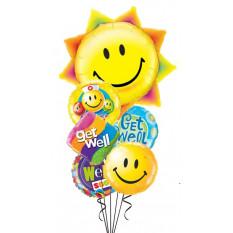 Get Well Sun & Smiles Bouquet